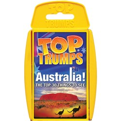 Top Trumps Card Game - Australia Top 30 Things to See