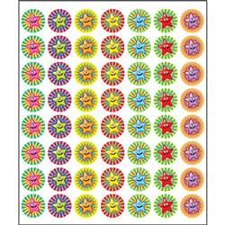 Mini Merit Stickers - Smiley Stars