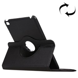 360° Rotatable Leather Case with Stand iPad mini 4 Black