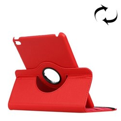 360° Rotatable Leather Case with Stand iPad mini 4 Red