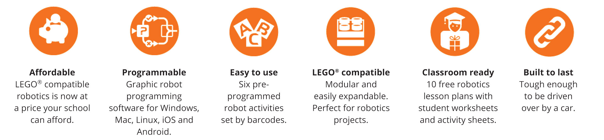 Edison Educational Robot lego compatible - Kookaburra