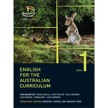 image shown written for the australian curriculum english the series
