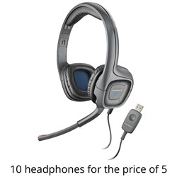 Plantronics USB Stereo Headset Package