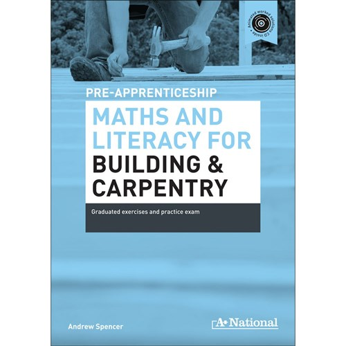 Pre-Apprenticeship Maths & Literacy for Building & Carpen