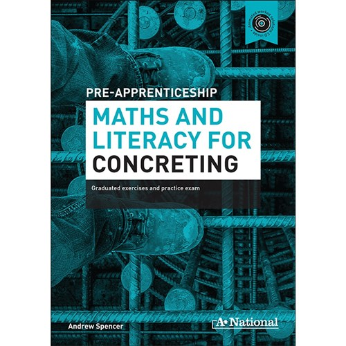 Pre-Apprenticeship Maths & Literacy for Concreting