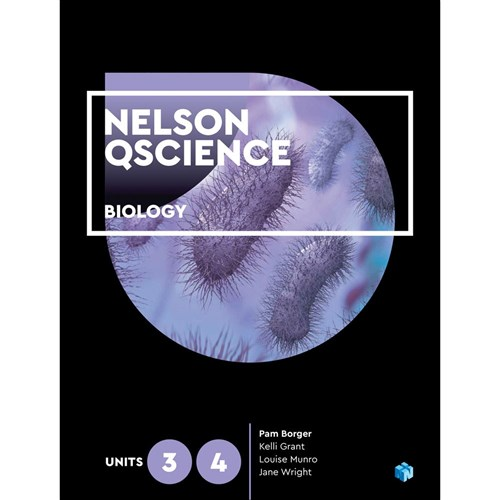 Nelson QScience Biology Units 3 & 4 Student Book + 4 Codes