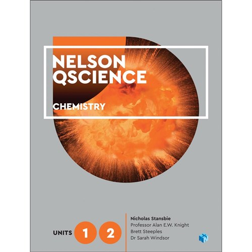Nelson QScience Chemistry Unit 1 & 2 Student Book + 4 Access