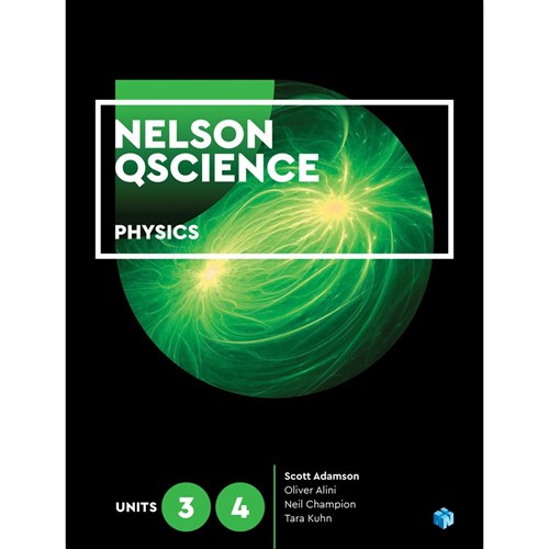 Nelson QScience Physics Units 3 & 4 Student Book + 4 Codes