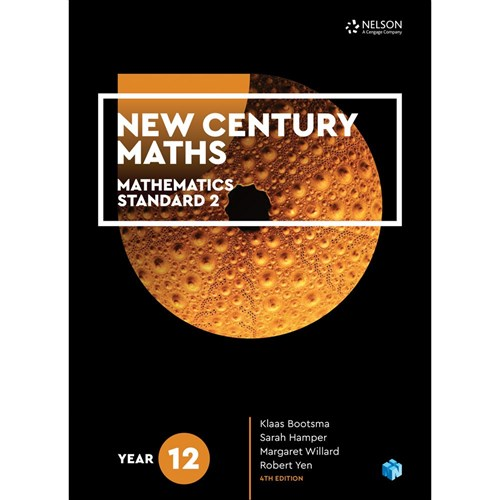 New Century Maths 12 Standard 2 Student Book + 4 Code