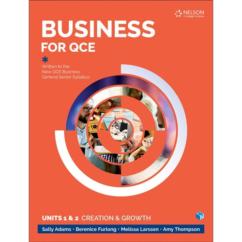 Business for QCE Units 1 & 2 Student Book + 4 Codes