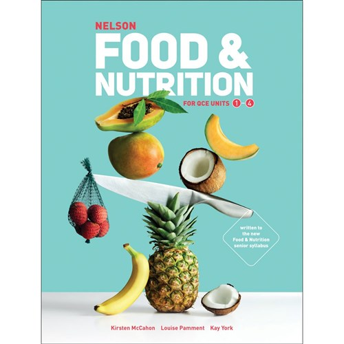 Nelson Food & Nutrition QCE Student Book + 4 Codes