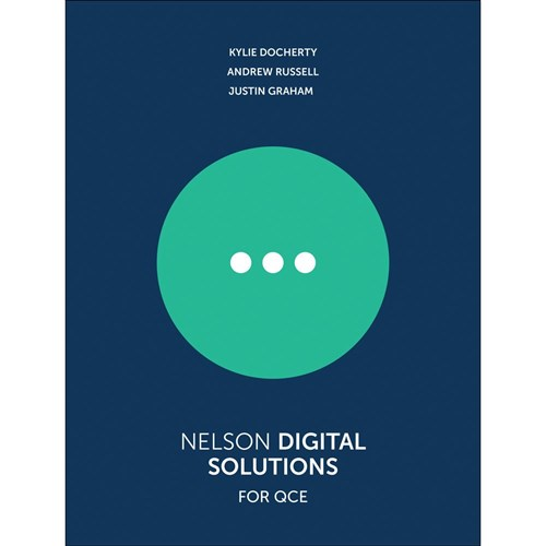 Nelson Digital Solutions QCE Units 1-4 Student Bk + 1 Code
