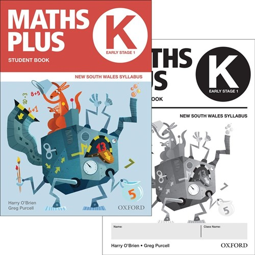 9780190026189 - Maths Plus AC NSW Kinder Value Bundle Print + ...