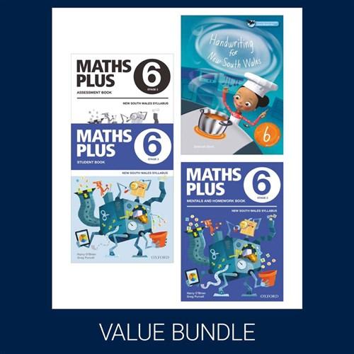 9780190026240 - Maths Plus AC NSW Year 6 Value Bundle Print + ...