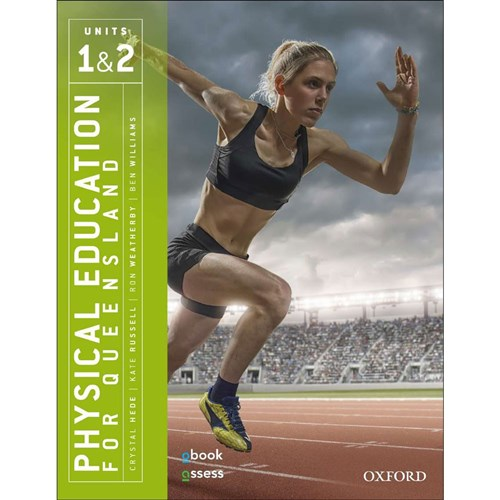 Physical Education QLD Units 1 & 2 Student Bk + obook