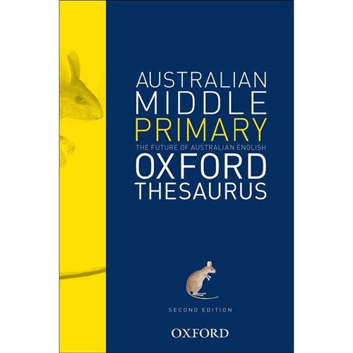 9780195551884 - Oxford Australian Middle Primary Thesaurus ...