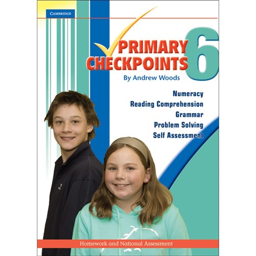 Cambridge Primary Checkpoints Book 6 National Assessment