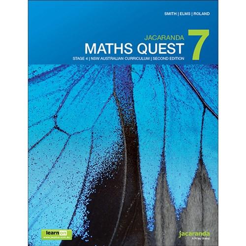 9780730347378 - Jacaranda Maths Quest 7 AC NSW 2e learnON + Print ...