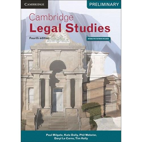 9781316621059 Cambridge Legal Studies Preliminary 4e
