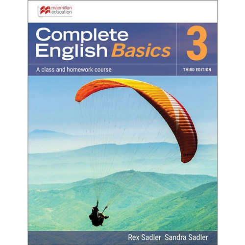 Complete English Basics AC 3 Student Book + Digital 3e