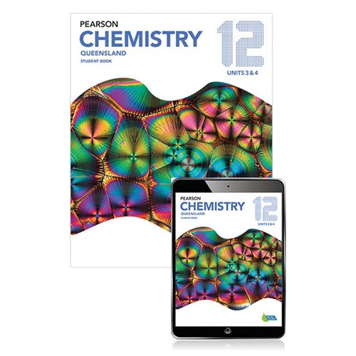 Pearson Chemistry QLD 12 Student Book with Reader+