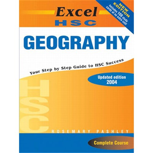 Excel HSC Geography with HSC Study Cards
