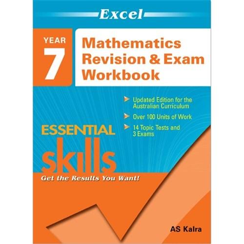 Excel Maths Revision & Exam Workbook Year 7