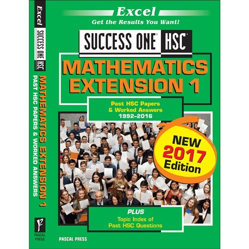 Success One 2017 Mathematics Extension 1