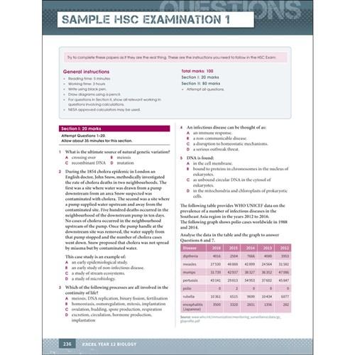 Excel Study Guide HSC Biology 2019
