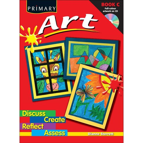 Primary Art Book C + CD RIC-6588