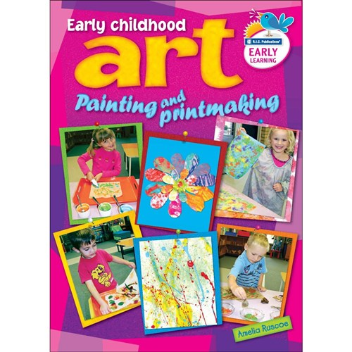 Early Childhood Art - Painting & Printmaking  BLM  RIC-6593