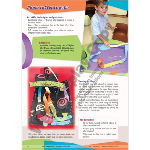 Early Childhood Art - Collage & Construction BLM  RIC-6594