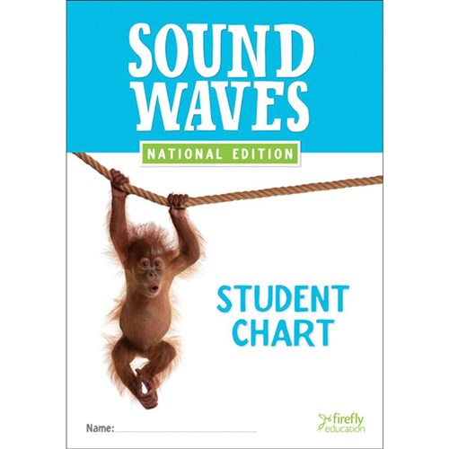 9781741351934 Sound Waves Student Chart A3 Desk Size