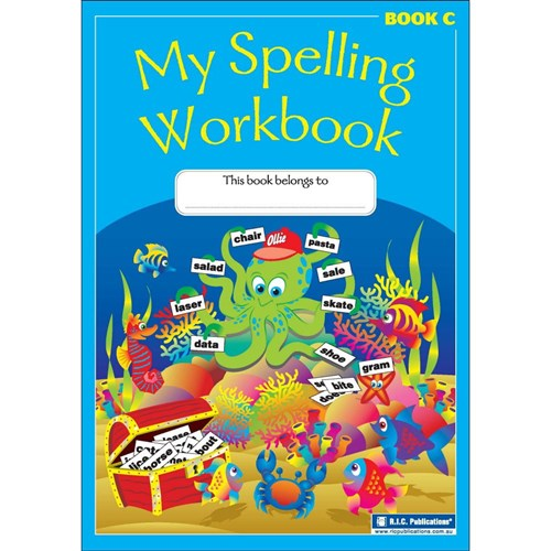 My Spelling Workbook Book C Ages 7-8