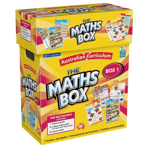 The Maths Box Year 1