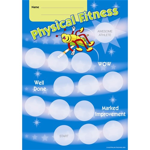 Achievement Card - Physical Fitness
