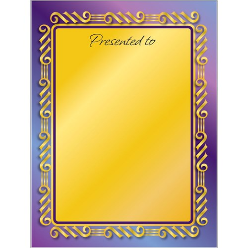 Bookplates Small - Formal Presentation 115 x 90mm