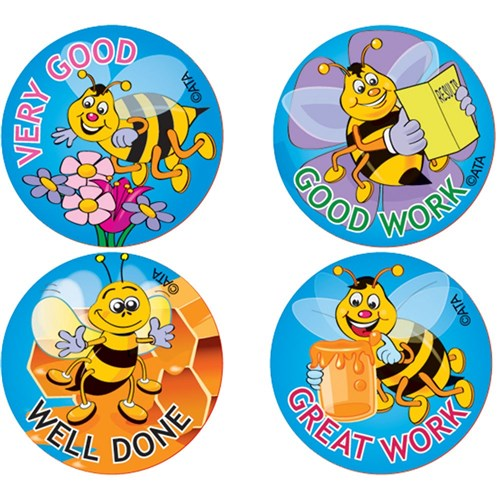 Merit Stickers - Bees