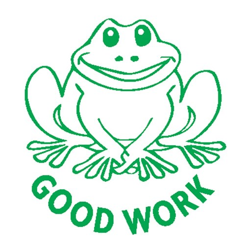 Merit Stamp - Good Frog
