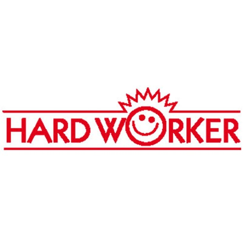 Teachers Stamp - Hard Worker