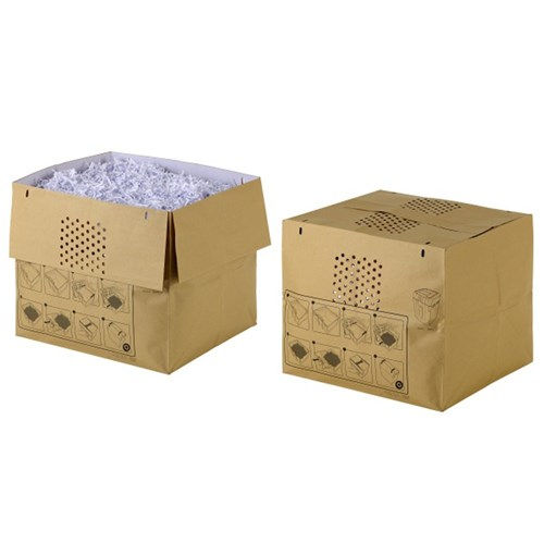 Rexel Shredder Paper Bags Recycled to suit Auto+200X