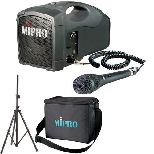 Zatma101pa Mipro Ma101 Portable Pa With Corded Mic Bag