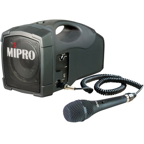 Zatma101pa Mipro Ma101 Portable Pa With Corded Mic Bag