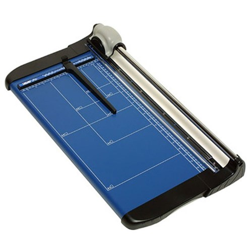 LEDAH Professional Trimmer Metal Base A3 15 Sheet Blue