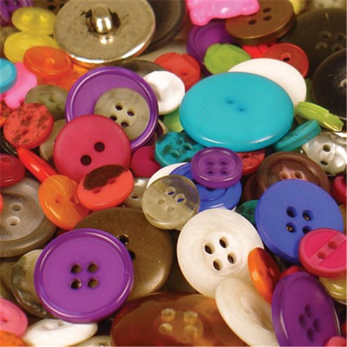 Bucket O' Buttons (approx 500g)