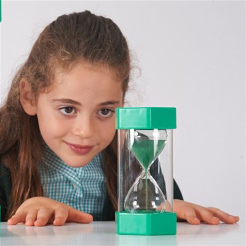 Sand Timer - Large 1 Minute Green