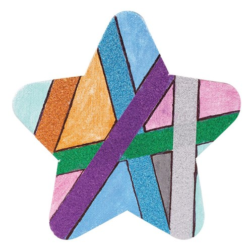 Magnetic Canvas Boards 150 x 150mm Star