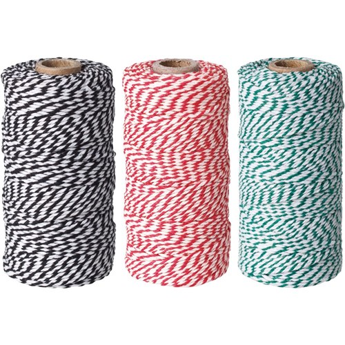 Bakers Twine 100m Christmas