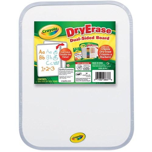 zcy98 8637 crayola dual sided dry erase board kookaburra