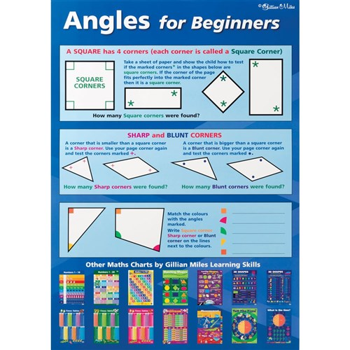 Chart - Angles for Beginners / Angles Double Sided